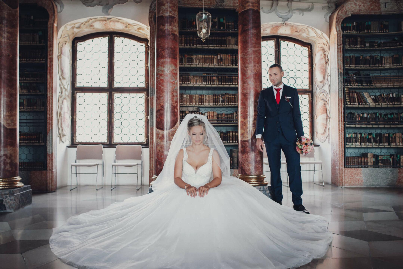 Braut pompös