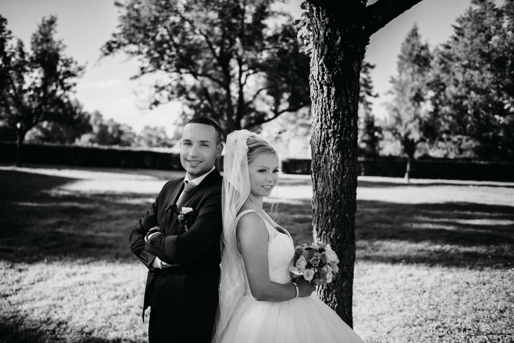 Wedding black and white